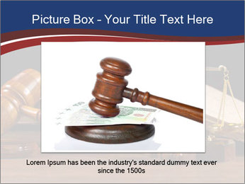 Court Fairness PowerPoint Template - Slide 15