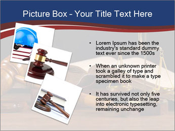 Court Fairness PowerPoint Template - Slide 17