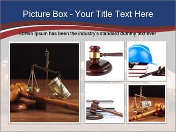 Court Fairness PowerPoint Template - Slide 19