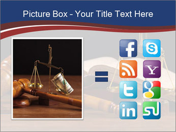Court Fairness PowerPoint Template - Slide 21