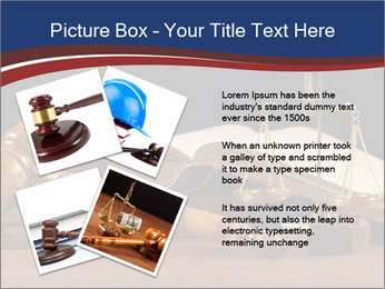Court Fairness PowerPoint Template - Slide 23