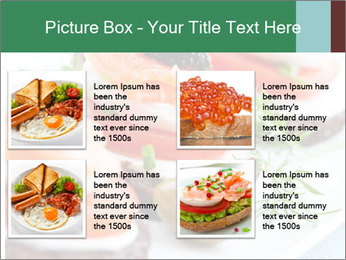 Smoked Salmon Snack PowerPoint Templates - Slide 14