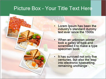 Smoked Salmon Snack PowerPoint Templates - Slide 17
