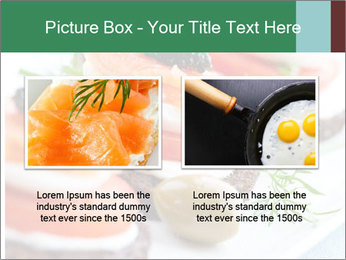 Smoked Salmon Snack PowerPoint Templates - Slide 18