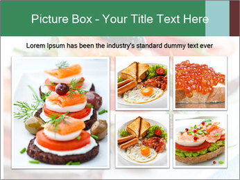 Smoked Salmon Snack PowerPoint Templates - Slide 19