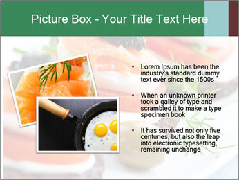 Smoked Salmon Snack PowerPoint Templates - Slide 20