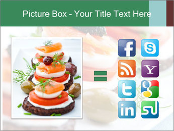 Smoked Salmon Snack PowerPoint Templates - Slide 21