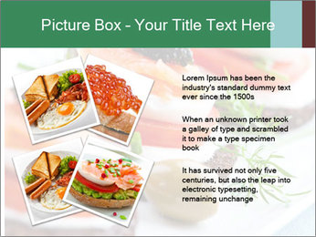 Smoked Salmon Snack PowerPoint Templates - Slide 23