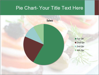 Smoked Salmon Snack PowerPoint Templates - Slide 36