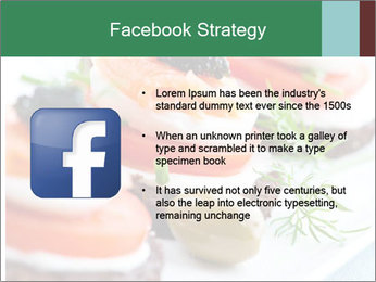 Smoked Salmon Snack PowerPoint Templates - Slide 6