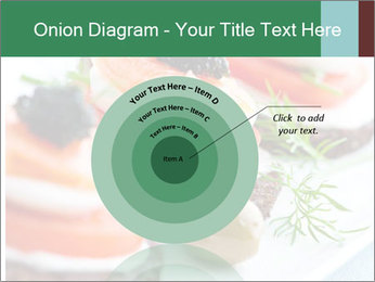 Smoked Salmon Snack PowerPoint Templates - Slide 61