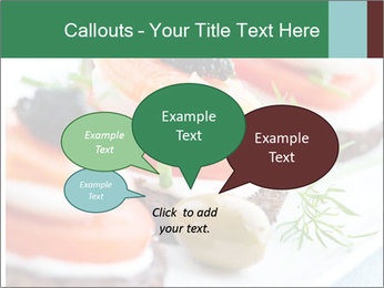 Smoked Salmon Snack PowerPoint Templates - Slide 73