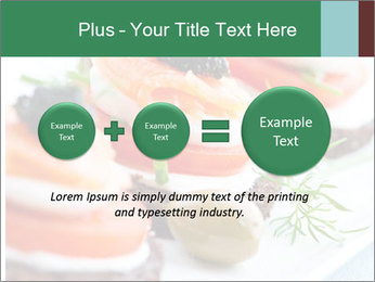 Smoked Salmon Snack PowerPoint Templates - Slide 75
