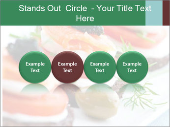 Smoked Salmon Snack PowerPoint Templates - Slide 76