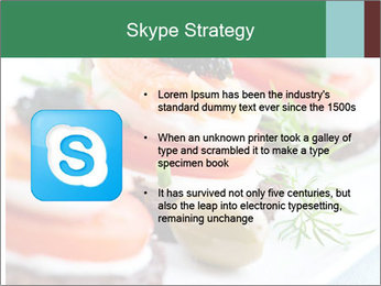 Smoked Salmon Snack PowerPoint Templates - Slide 8