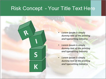 Smoked Salmon Snack PowerPoint Templates - Slide 81