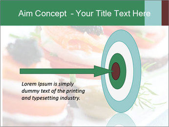 Smoked Salmon Snack PowerPoint Templates - Slide 83