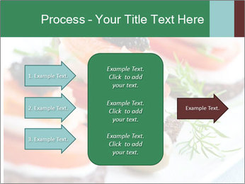 Smoked Salmon Snack PowerPoint Templates - Slide 85
