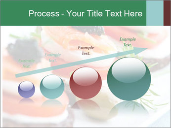 Smoked Salmon Snack PowerPoint Templates - Slide 87
