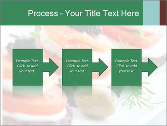 Smoked Salmon Snack PowerPoint Templates - Slide 88