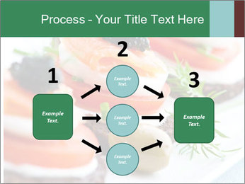 Smoked Salmon Snack PowerPoint Templates - Slide 92