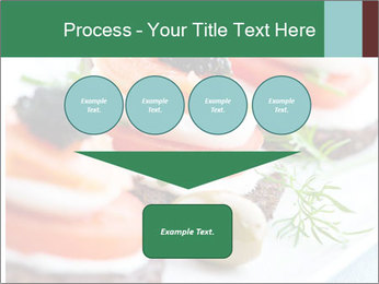 Smoked Salmon Snack PowerPoint Templates - Slide 93