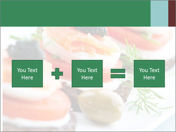 Smoked Salmon Snack PowerPoint Templates - Slide 95