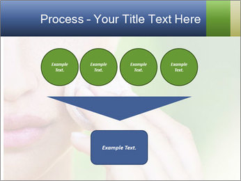 Woman Applying Face Powder PowerPoint Templates - Slide 93