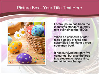 Basket With Easter Egg PowerPoint Templates - Slide 13