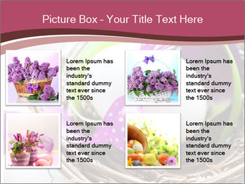 Basket With Easter Egg PowerPoint Templates - Slide 14