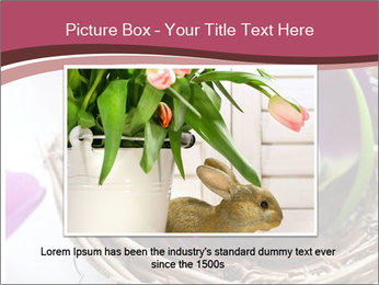 Basket With Easter Egg PowerPoint Template - Slide 15