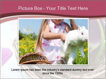 Basket With Easter Egg PowerPoint Template - Slide 16