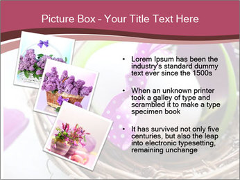 Basket With Easter Egg PowerPoint Template - Slide 17