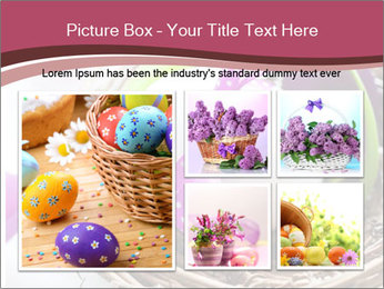 Basket With Easter Egg PowerPoint Templates - Slide 19