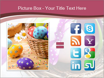 Basket With Easter Egg PowerPoint Templates - Slide 21