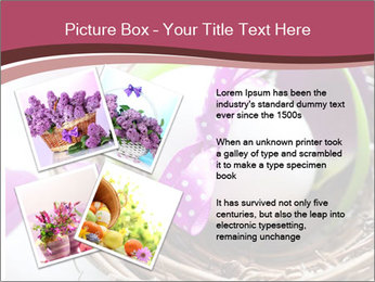 Basket With Easter Egg PowerPoint Template - Slide 23