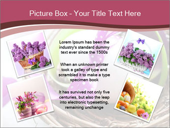 Basket With Easter Egg PowerPoint Template - Slide 24