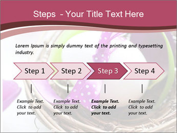 Basket With Easter Egg PowerPoint Template - Slide 4