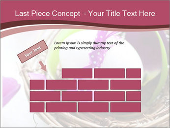 Basket With Easter Egg PowerPoint Template - Slide 46