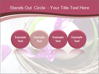 Basket With Easter Egg PowerPoint Templates - Slide 76