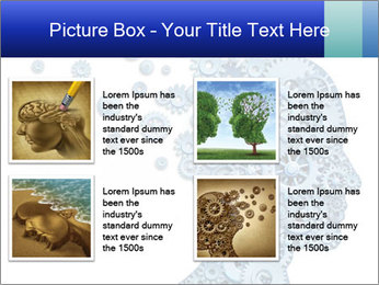 Human head PowerPoint Template - Slide 14