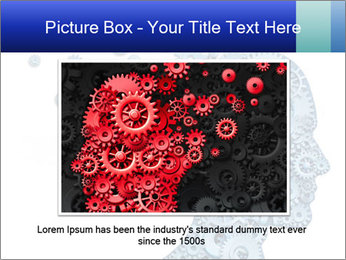 Human head PowerPoint Template - Slide 15