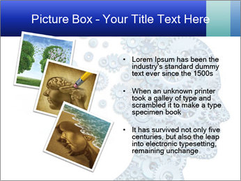 Human head PowerPoint Template - Slide 17