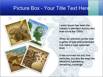 Human head PowerPoint Templates - Slide 23