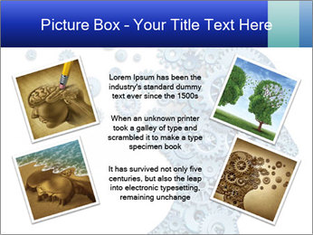 Human head PowerPoint Template - Slide 24