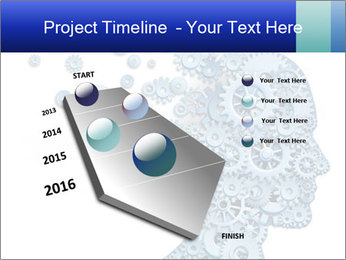 Human head PowerPoint Template - Slide 26