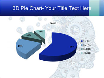 Human head PowerPoint Template - Slide 35