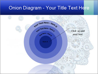 Human head PowerPoint Template - Slide 61