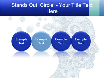 Human head PowerPoint Template - Slide 76