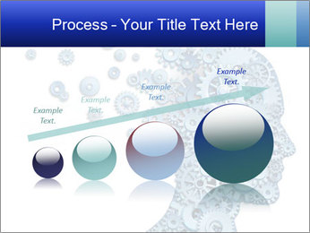Human head PowerPoint Template - Slide 87
